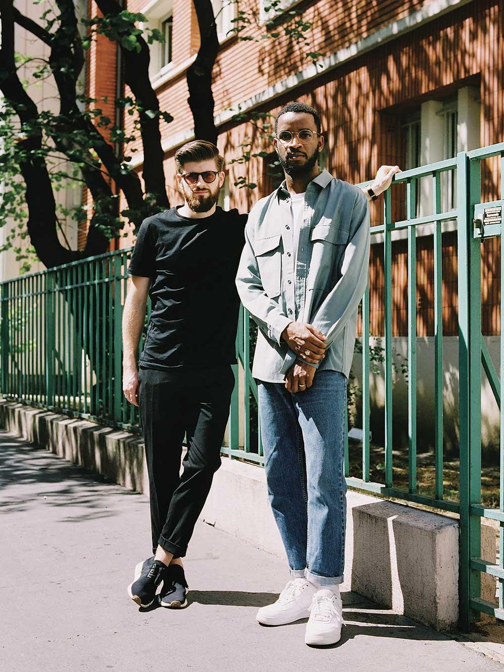 Photo de Florian Dach et Dimitri Zéphir